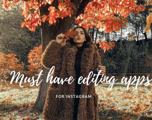 MY TOP 5 MUST HAVE EDITING APPS FOR INSTAGRAM 1